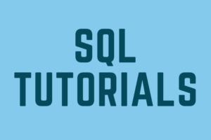 Link to SQL Tutorials