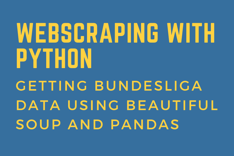 Webscraping with Python Cover Image