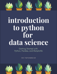 Cover of Introduction to Python for Data Science