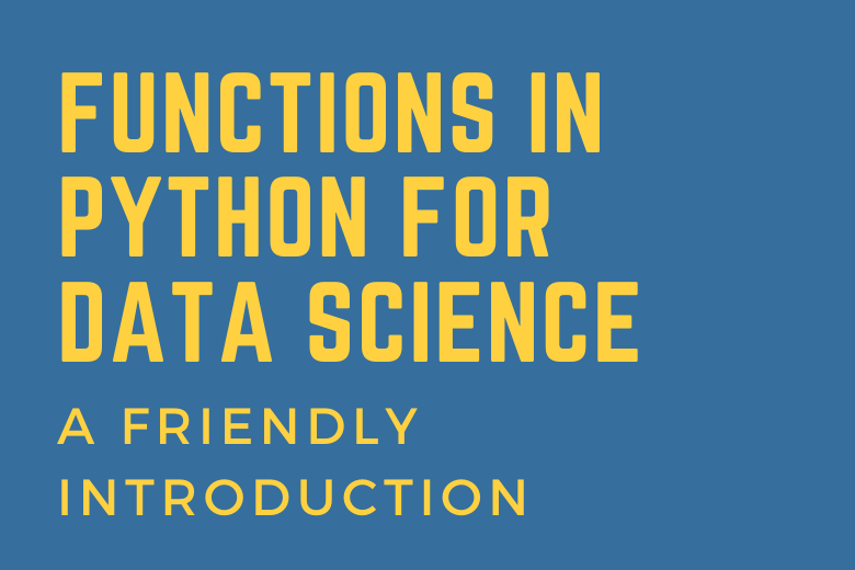 Cover Image for Functions in Python for Data Science